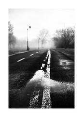 un rare brouillard sur Verdun