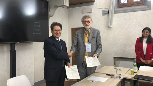 FSR and IRENA MoU signing ceremony