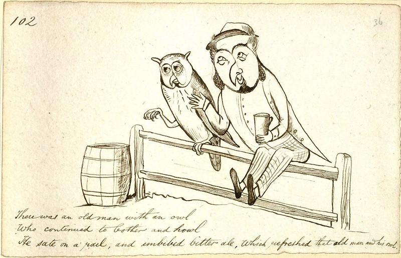 Lear-Old-man-owl