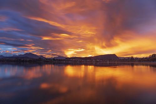 wanaka newzealand sunrise