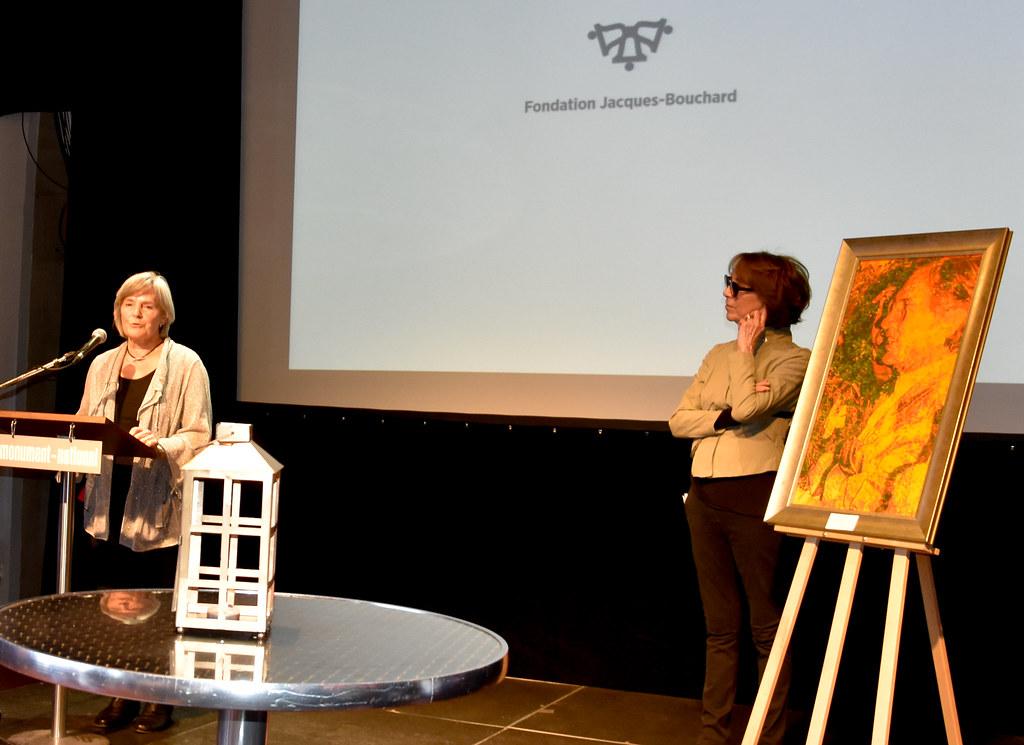 Vernissage 30 avril Deux femmes artistes en harmonie-17