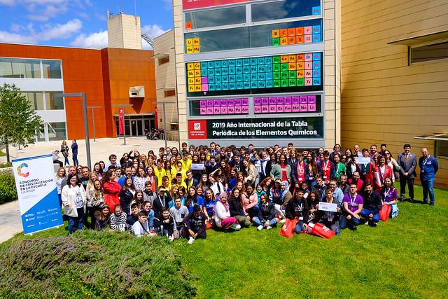 Final del II Concurso de Cristalización en la Escuela en La Rioja