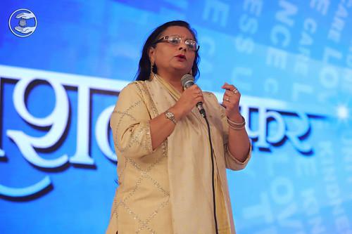 President Lodha Foundation Manju Mangal expresses her views
