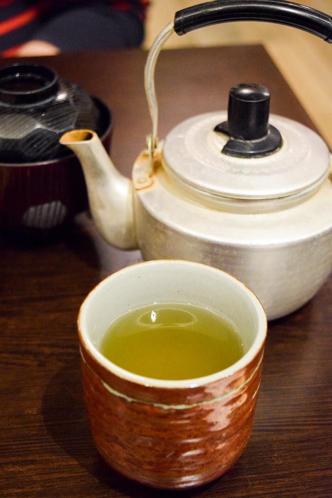 Green Tea at Eat Tokyo, Notting Hill Gate