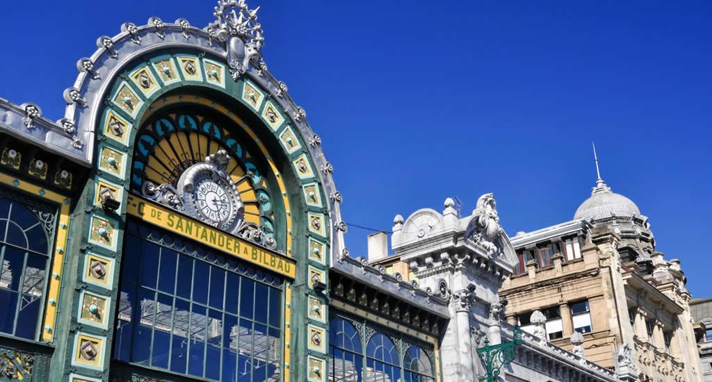 Treinstation Bilbao: Art Nouveau | Mooistestedentrips.nl