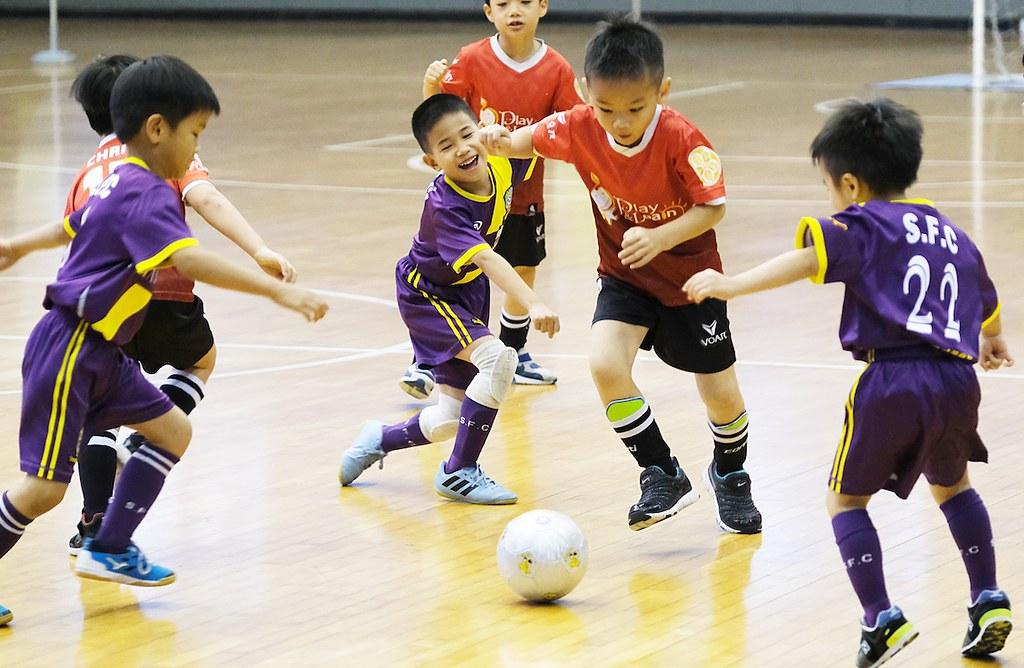 台北市幼兒足球錦標賽。(主辦單位提供)