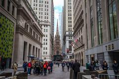 Trinity Church and Wall Street