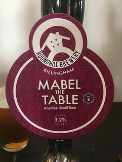 Roundhill Brewery, Mabel the Table, England