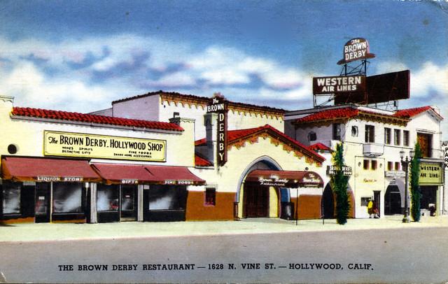 Brown Derby Restaurant_Hollywood CA