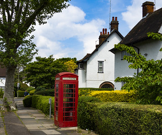 Phone Box, Hampstead Garden Suburb