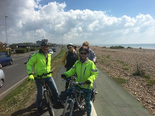 Cycle track to Worthing