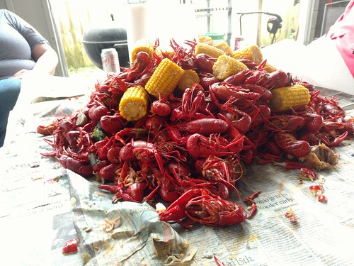 Pile o crawfish