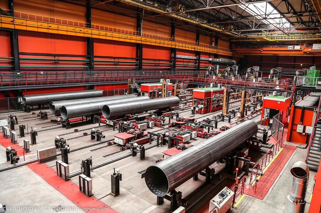 Великие заводы России: Челябинский трубопрокатный завод МЕТАЛЛУРГИЯ