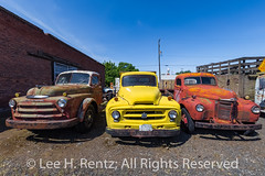 Old Truck Collection in Sprague, Washington