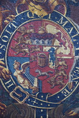 George III royal arms (detail)