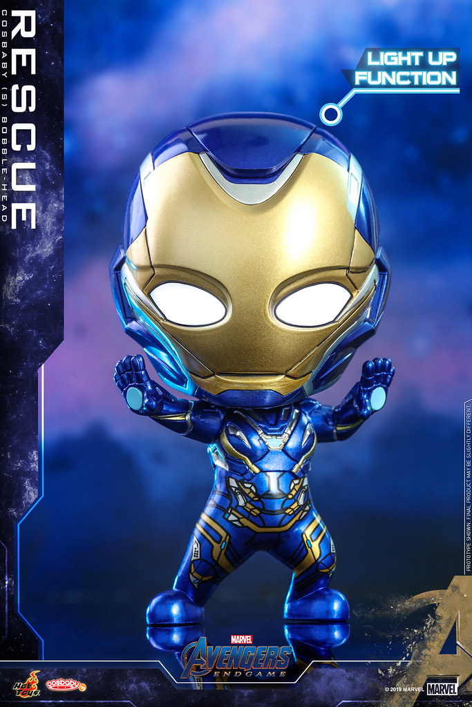 Hot Toys – COSB569 - COSB579 –《復仇者聯盟:終局之戰》Avengers: Endgame Cosbaby Bobble-Head Series