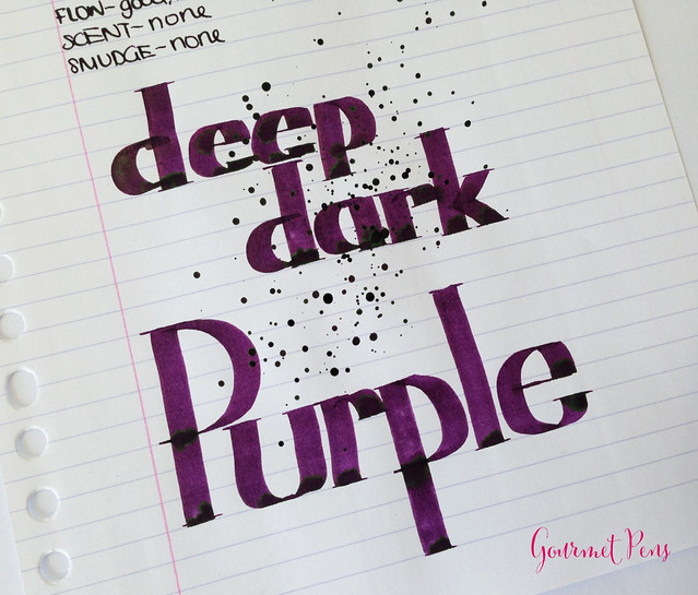 Cult Pens Diamine Deep Dark Purple Ink 6