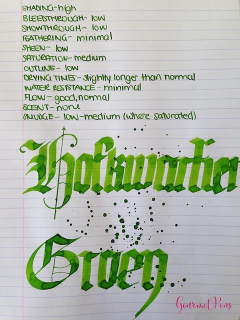 P.W Akkerman Hofkwartier Groen Ink 6