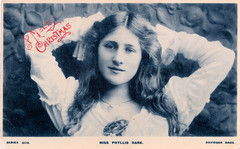 Miss Phyllis Dare Prior to 1905. And the Execution of a Nazi Collaborator.