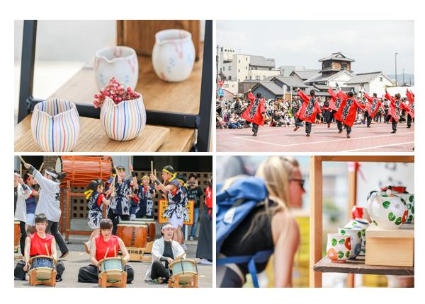 「せと陶祖まつり」2019 和太鼓演奏 踊りパフォーマンス 愛知県瀬戸市