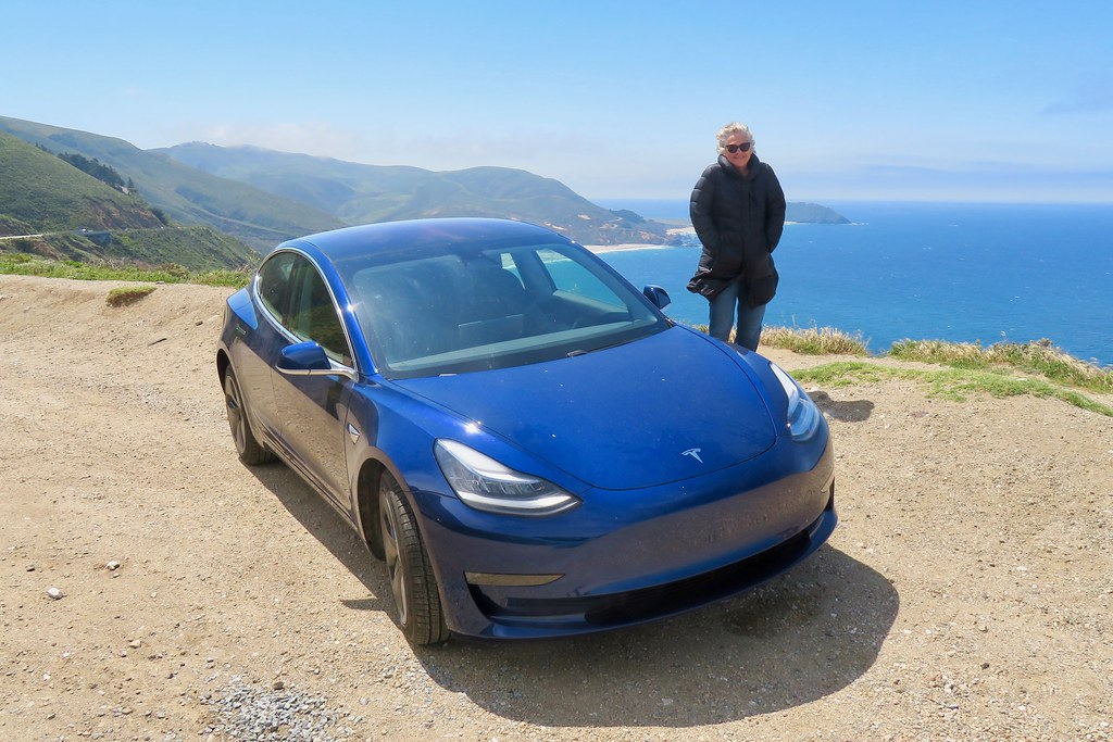 Our Tesla's Maiden Voyage to Big Sur | We drove our new ...