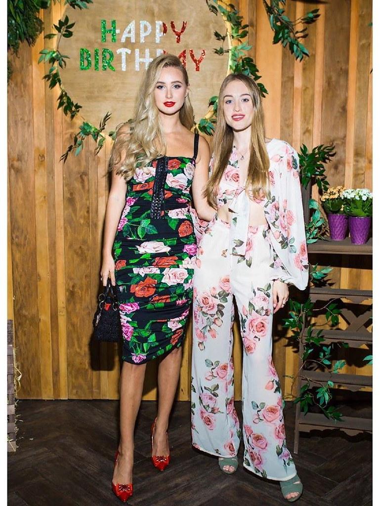 Алла Барановская в платье Dolce & Gabbana