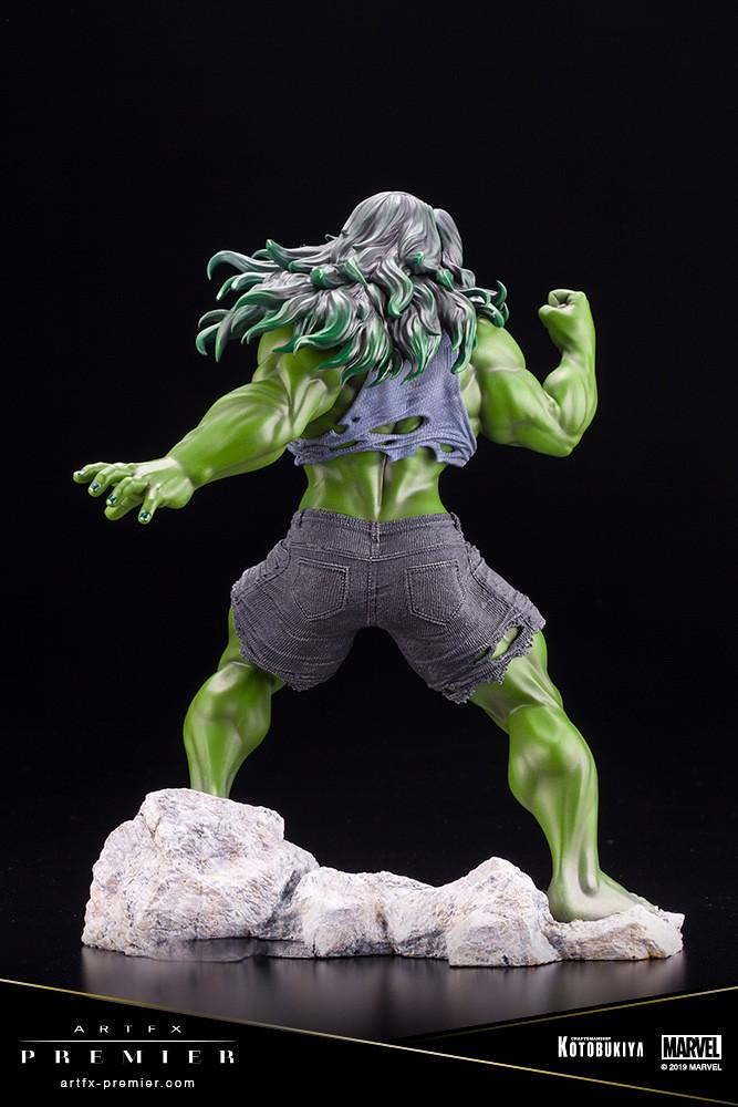 極富魅力的的肌肉造型美! 壽屋 ARTFX PREMIER 系列 Marvel Universe【女浩克】シーハルク 1/10 比例PVC塗裝完成品