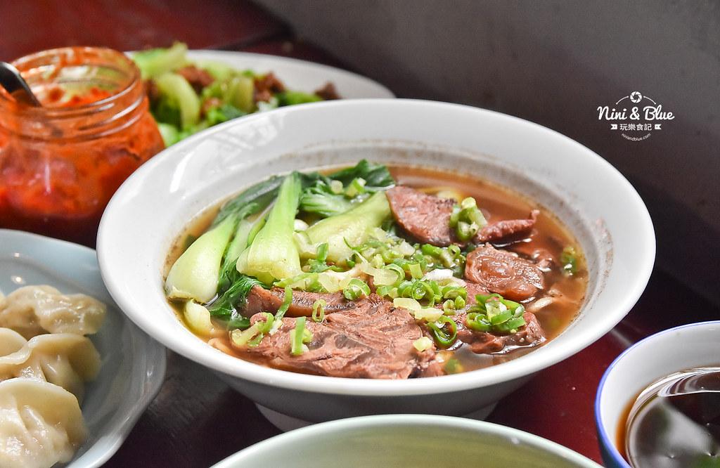 陋巷之春老家牛肉麵 menu菜單 台中中華夜市美食20