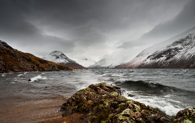 Stormy wasdale afternoon