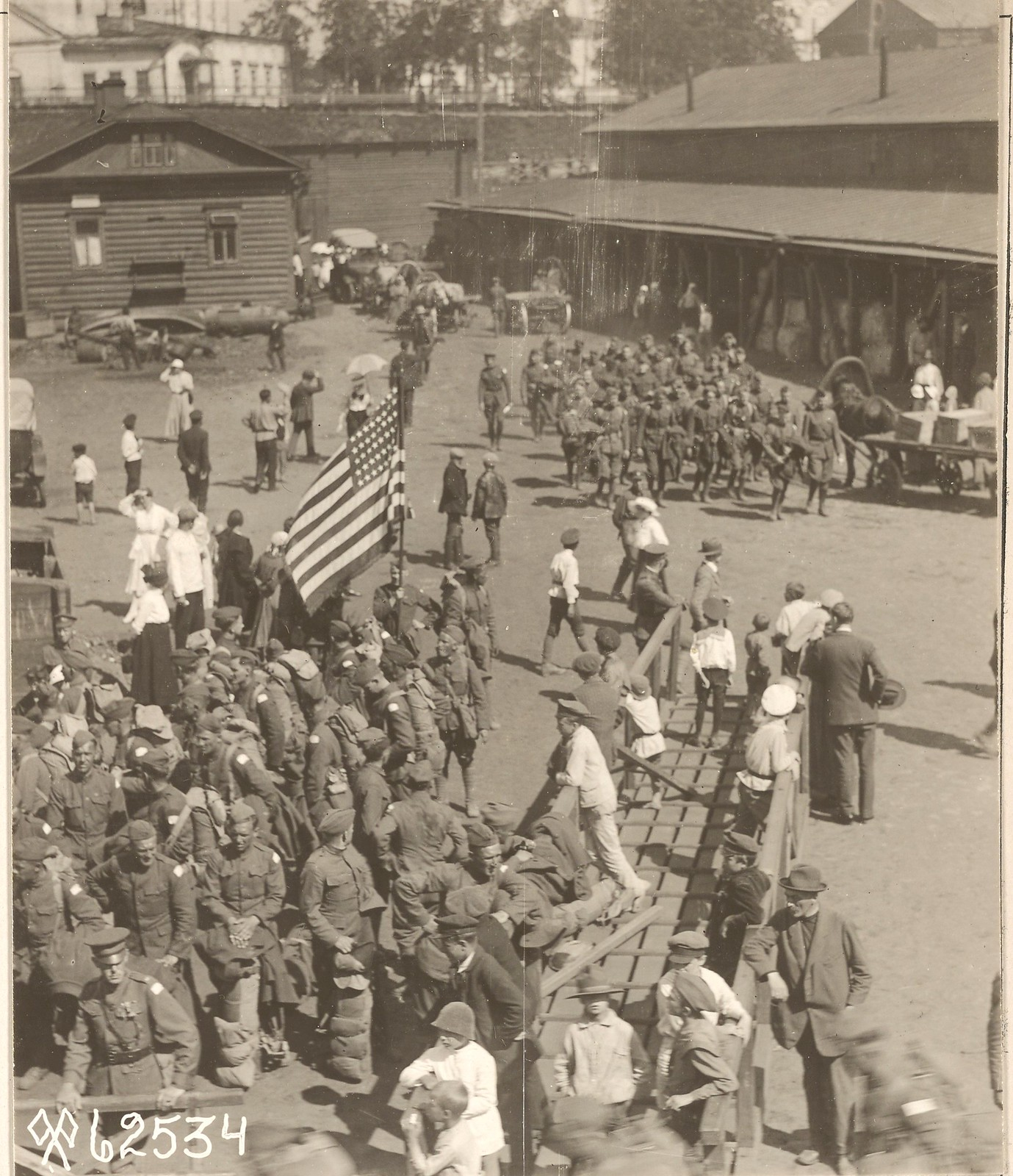 Архангельск. 1‑й батальон 310‑го инженерного полка ждет отправки домой.