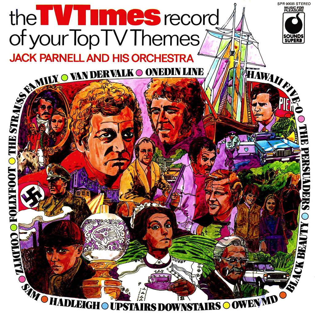 Jack Parnell - The TV Times Record Of Your Top TV Themes
