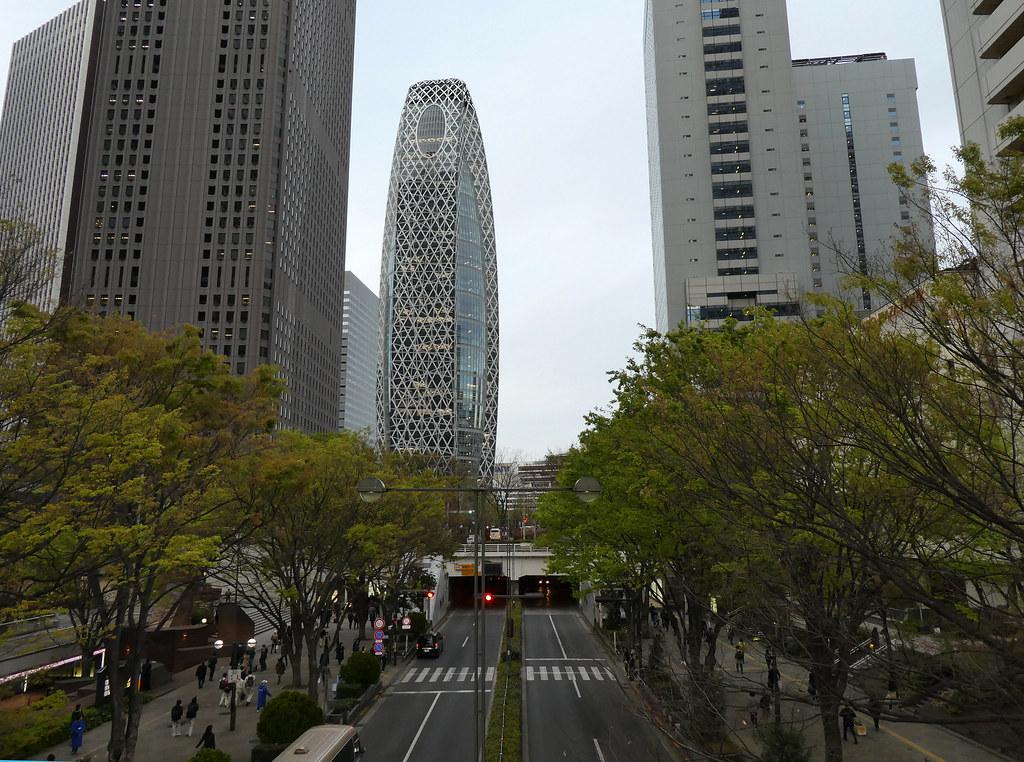 Башня-Кокон Модэ Гакуэн