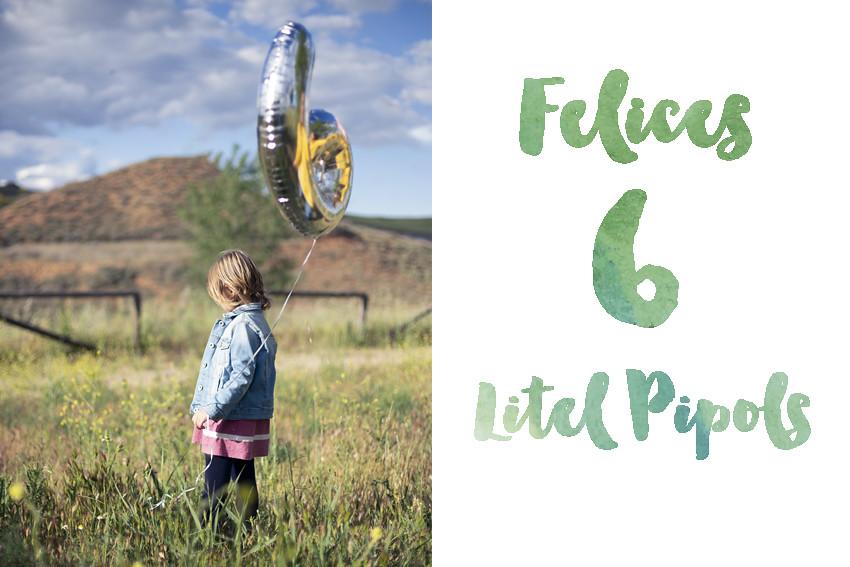 Los litel Pipols cumplen 6 años!