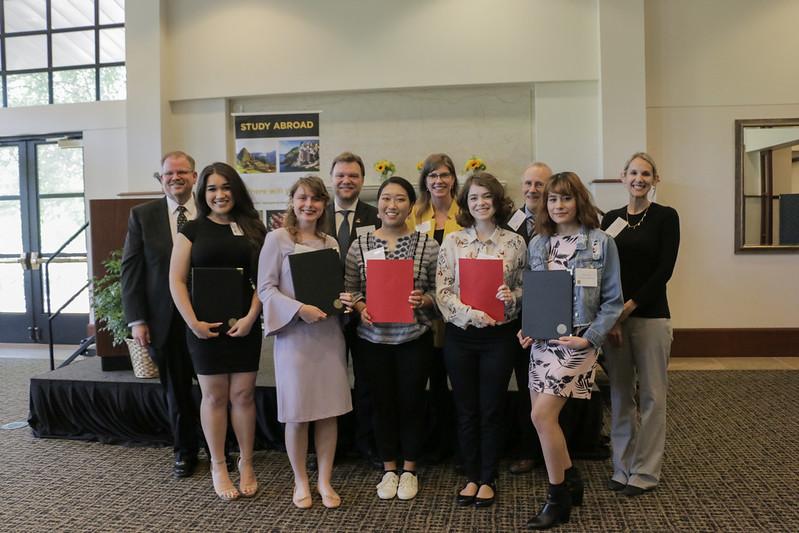 2019 Bond International Scholar Award Ceremony