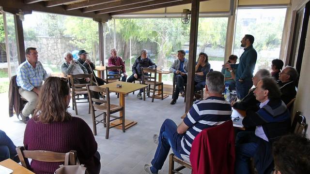 Περιοδεία και ομιλίες της «Λαϊκής Συσπείρωσης» στο Καλαμίτσι, Εγκλουβή και Καρυά