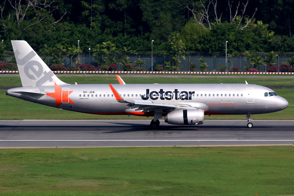 Jetstar Asia | Airbus A320-200 | 9V-JSW | Singapore Changi