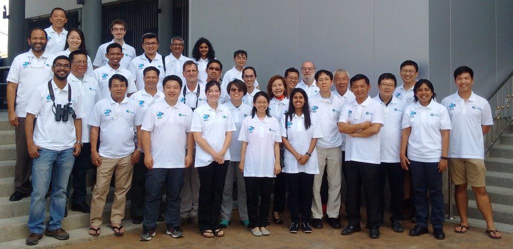 水鳥保育有賴國際合作,透過參與國際會議、分享台灣保育經驗,獲得不少肯定。圖片來源:特生中心提供