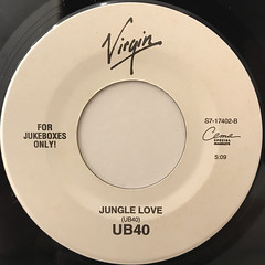 UB40:CAN'T HELP FALLING IN LOVE(LABEL SIDE-B)