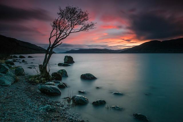 Great Glen Sunset .