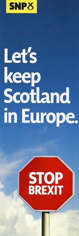 SNP European Election leaflet, May 2019