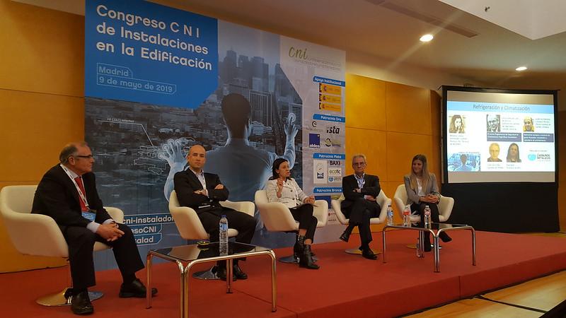 Congreso C N I de Instalaciones en la Edificación, Madrid, 9 de mayo de 2019