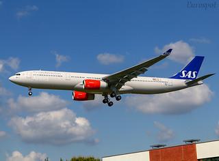 F-WWCE Airbus A330 Scandinavian
