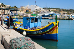 Fishing boats at Marsaxlokk harbour. 作者 ho_hokus