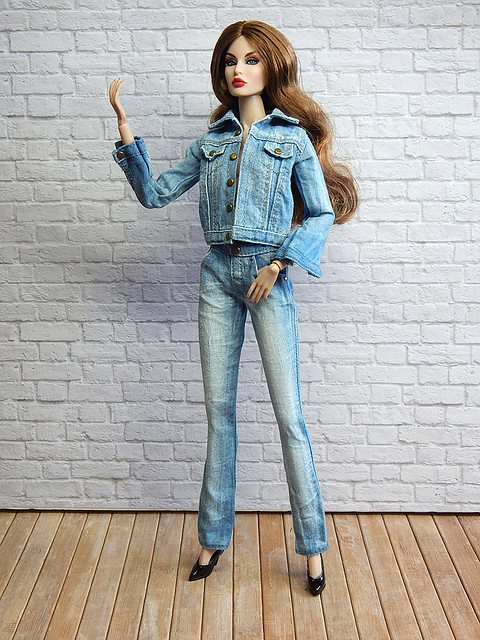 Judy in jeans