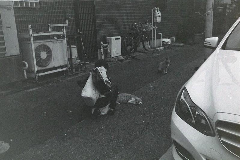 056LeicaM2 Summaron 35mm f35 Kodak 400TX池袋三丁目