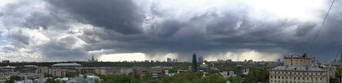 Moscow rain