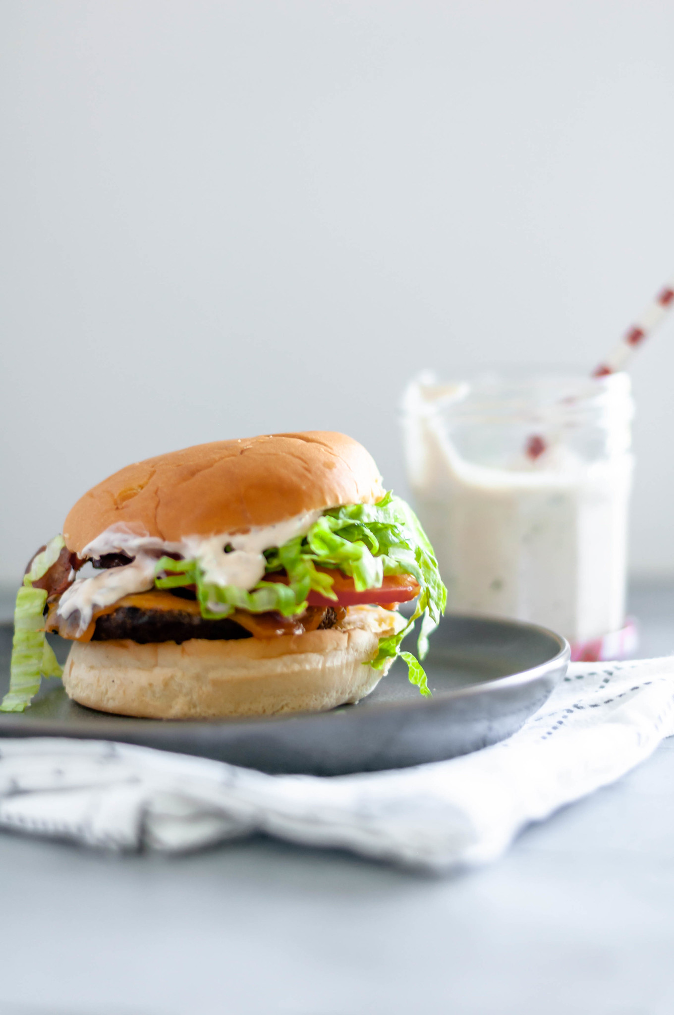 You will become the hostest with the mostest when you serve your guests juicy cheeseburgers slathered in this flavorful burger sauce. It's super simple to mix up with ingredients you probably already have in your refrigerator. Super flavorful and delicious.