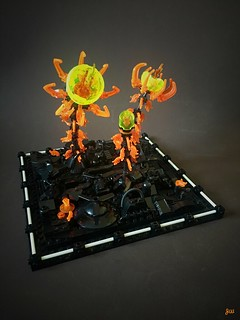 Fiery Flowers | by jarekwally