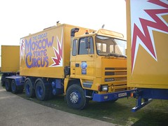 quicksilver coaches posted a photo:	K651 HCJ1993 Foden 4375Moscow State CircusCampbell Park, Milton Keynes, 14 March 2008Another of the European Entertainment Corporation's favoured Foden 6x4 drawbar tractors and also now on SORN. There seems to have been a complete fleet replacement over the past decade as very few vehicles photographed in 2008 are still on the road in 2019 and those that are appear to have changed hands.
