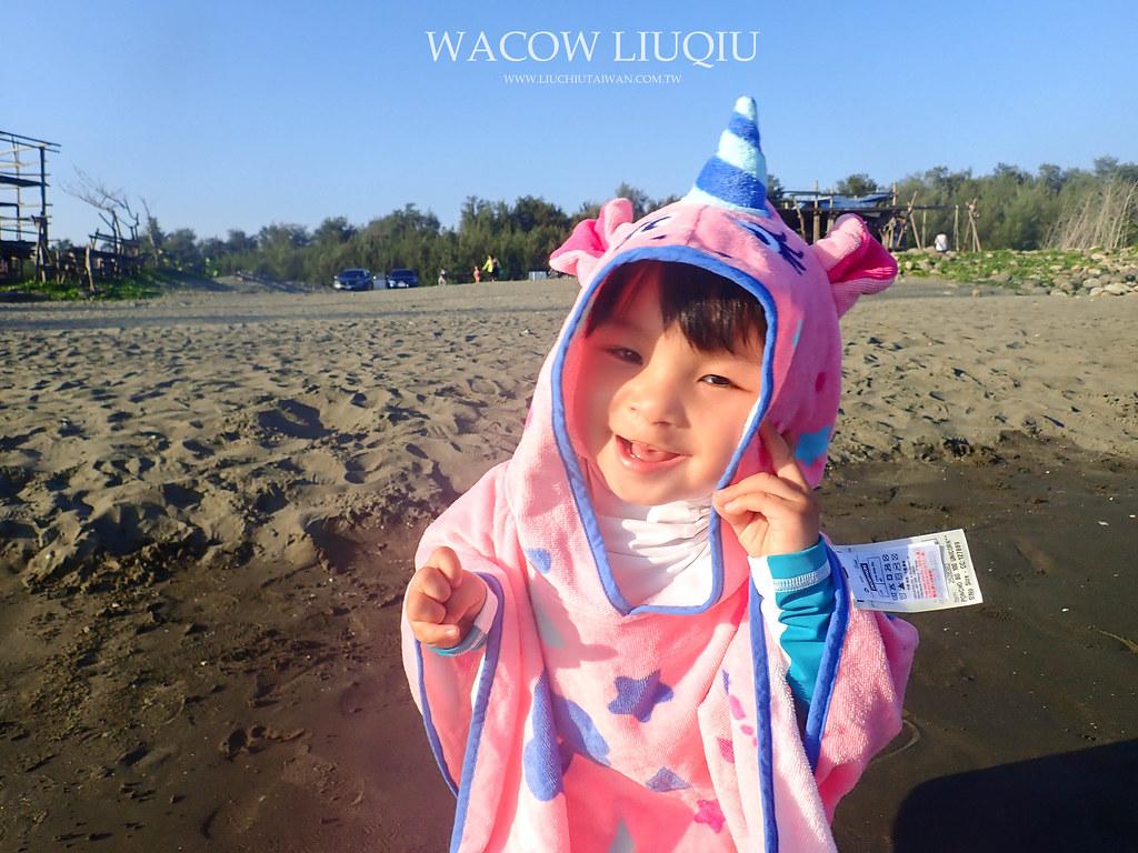 迪卡農小孩毛巾衣